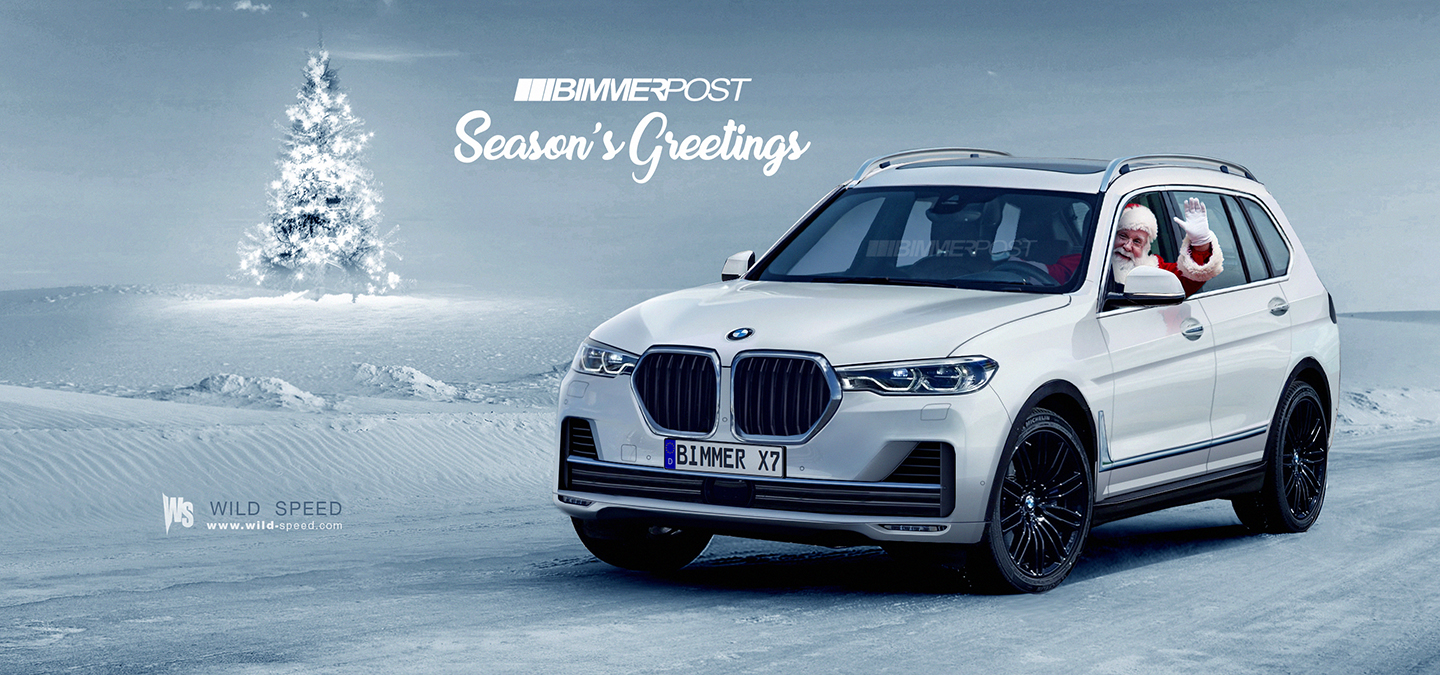 Merry Christmas From Bimmerpost And Santa In His Bmw X7