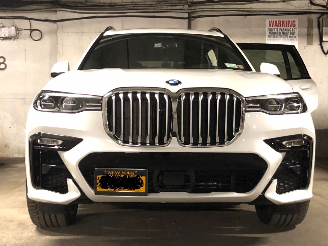 Front License Plate Xbimmers X7